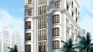 10 Mẫu khách sạn 7 tầng đang được ưa chuộng hiện nay