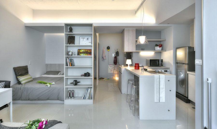 Những mẫu căn hộ Studio phổ biến hiện nay
