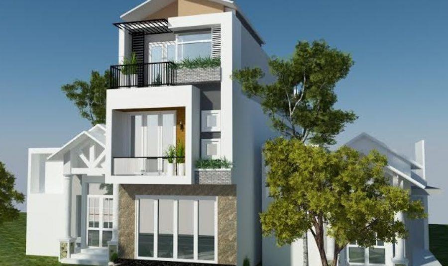 Các mẫu nhà phố 3 tầng theo xu hướng hiện nay