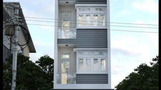 Kiểu mẫu nhà phố 3 tầng 1 tum xinh đẹp hiện nay