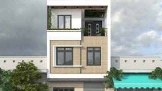 Tham khảo những mẫu nhà phố 3 tầng mặt tiền 5m hiện đại sang trọng