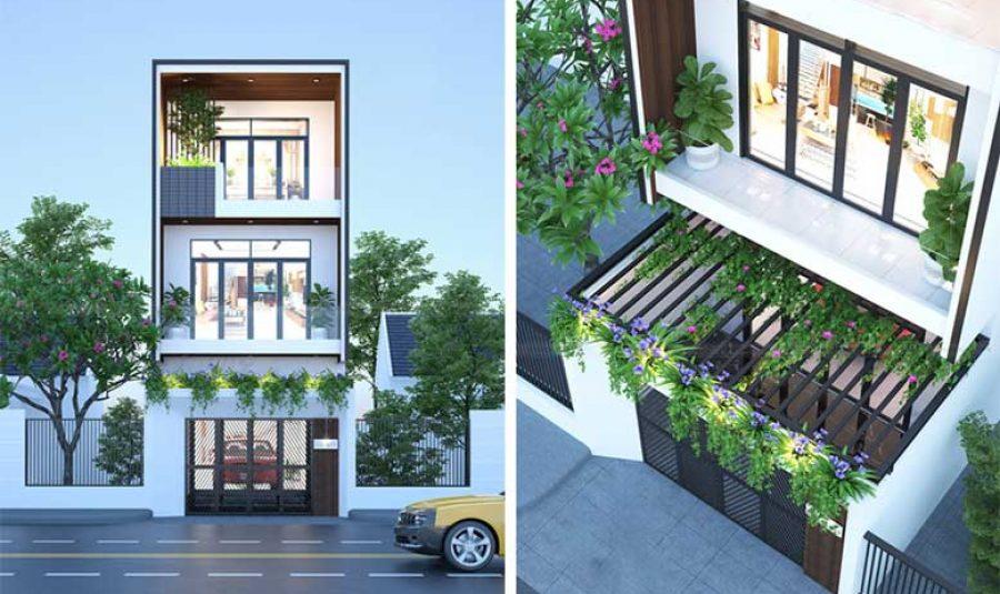 Ngắm nhìn những mẫu thiết kế nhà phố nhìn là mê