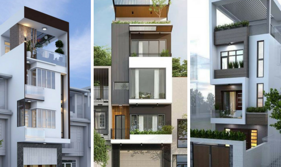 Những mẫu nhà phố 3 tầng tuyệt đẹp