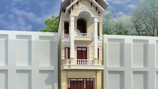 5 mẫu nhà phố kiểu pháp lộng lẫy