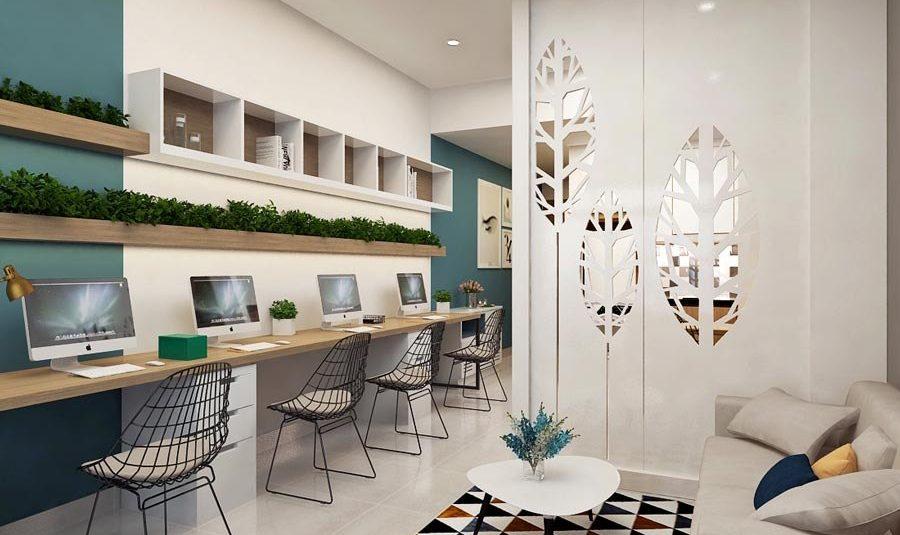 Mẫu thiết kế căn hộ Officetel đẹp nhất