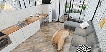 Những mẫu căn hộ Studio đẹp hút mắt