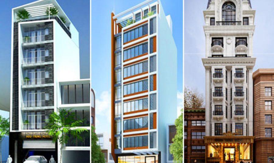Những mẫu khách sạn mini 8 tầng đẹp nhất 2020