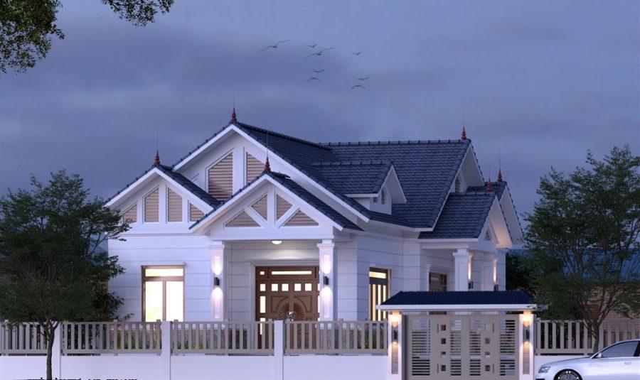 Chiêm ngưỡng những mẫu nhà mái Thái nông thôn 2 tầng hiện đại siêu đẹp