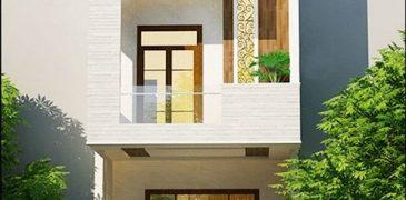 15 mẫu nhà phố 2 tầng đẹp cuốn hút