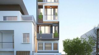 Nhà Phố 5 tầng đang thi công quận Sơn Trà