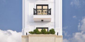 Những mẫu nhà phố cổ điển được ưa chuộng