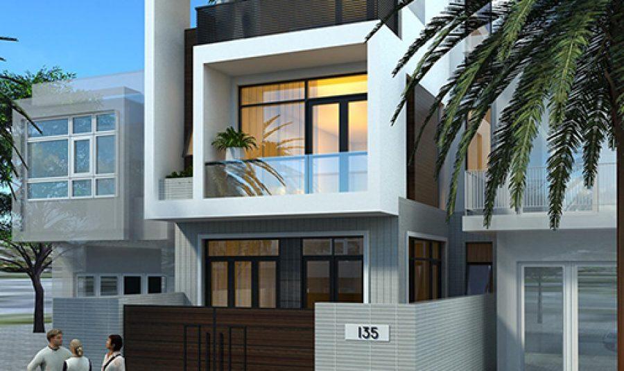 Những mẫu nhà phố đẹp được yêu thích nhất