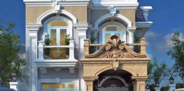 Nhà phố kiểu Pháp quận Ngũ Hành Sơn